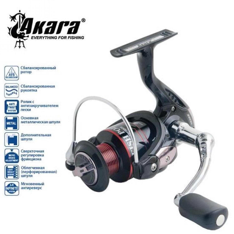 Катушка AKARA Fish Point FPF 2000, 4 ш.п.+1 р.