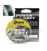 Плетенка AKARA Power Grey 100 м.
