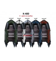 Лодка надувная ПВХ AQUASTAR K-400