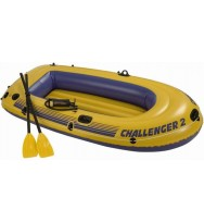 Лодка надувная INTEX Challenger 2 Set