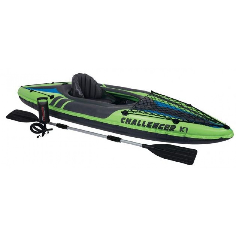 Байдарка надувная INTEX Challenger K1 Kayak