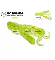 Мягкая приманка (съедобная) KOSADAKA Kong 70
