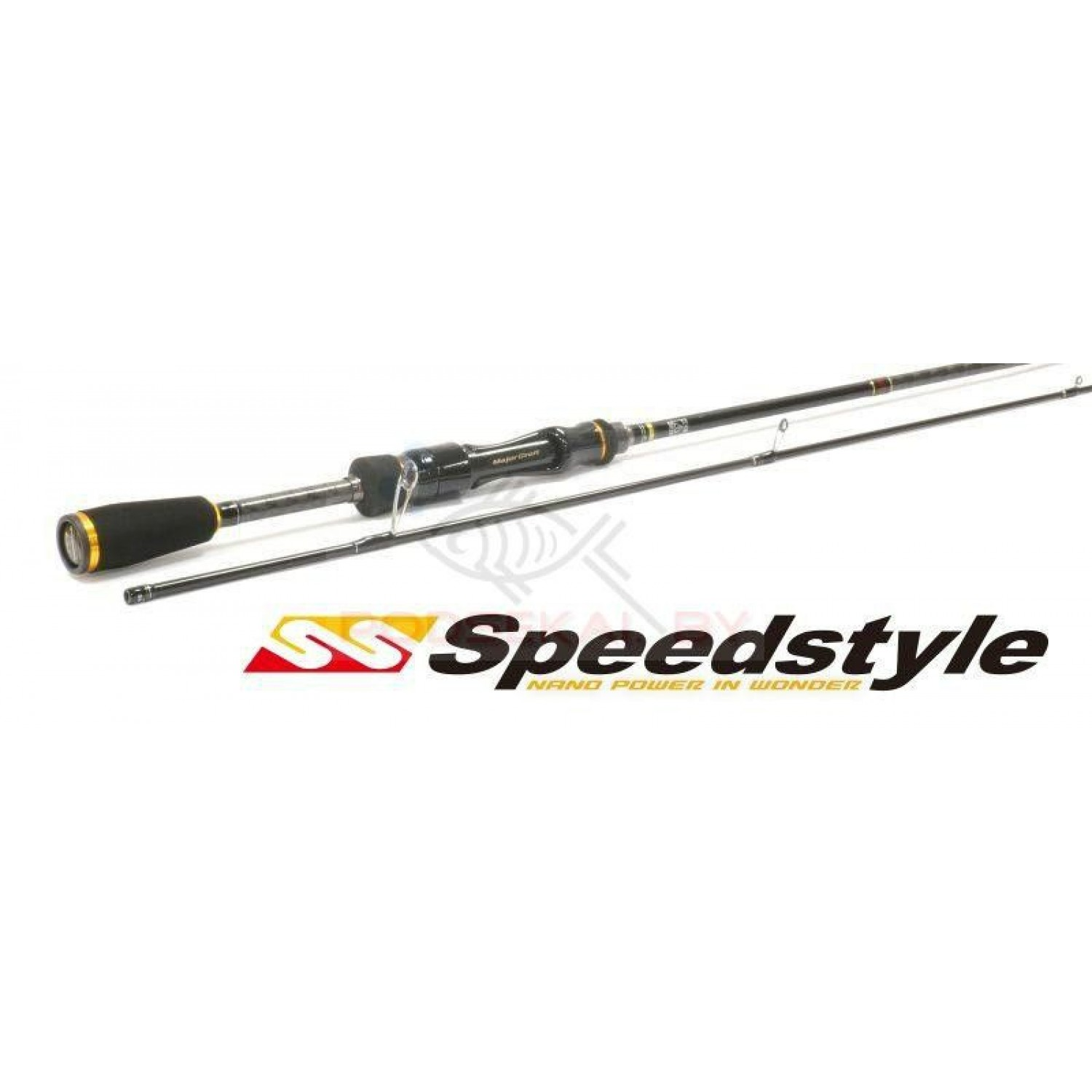 Спиннинг MAJOR CRAFT Speedstyle SSS-762ML 2,30м. 1/8 - 3/8 oz