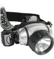 Фонарь налобный COMFORTICA 6 светодиодов + 1 лампа