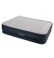 Надувная кровать INTEX 67736 Deluxe Pillow Rest 152х203х48 см