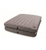Надувная кровать INTEX 67744 2 in 1 Queen 152x203x46 см