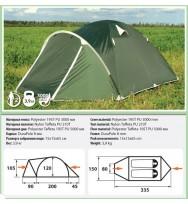 Палатка COMFORTICA Pamir 2
