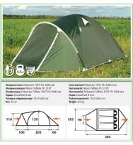 Палатка COMFORTICA Pamir 3