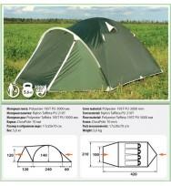 Палатка COMFORTICA Pamir 4
