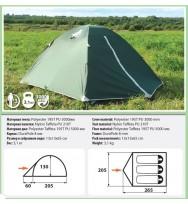 Палатка COMFORTICA Weekender 3