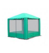 Шатер МИТЕК Пикник 2,5x2,5м. Зеленый