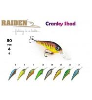 Воблер RAIDEN Cranky Shad 60