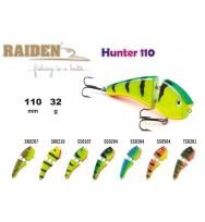 Воблер деревянный RAIDEN Hunter 110