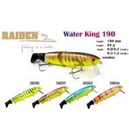 Воблер деревянный RAIDEN Water King 190