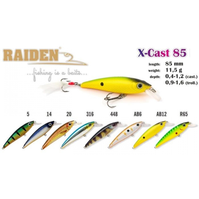 Воблер RAIDEN X-Cast 85