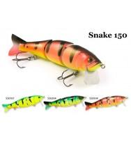 Воблер деревянный RAIDEN Snake 150