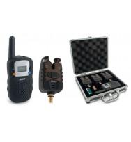 Набор сигнализатор клёва Akara Carp Pro 3 шт. + рация