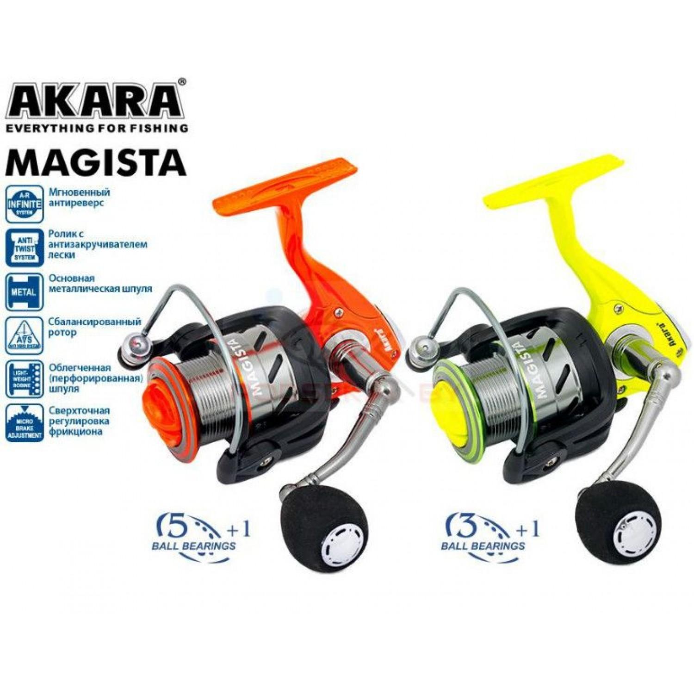 Покупка Катушка AKARA Magista AFM 2000 3 ш.п.+1 р. в Минске Беларуси