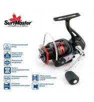 Катушка SURF MASTER Black Bass FD 1500A, 5 ш.п. + 1 р.