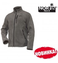Куртка флисовая NORFIN North Gray