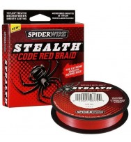 Плетенка SPIDERWIRE Stealth Red 110 м.