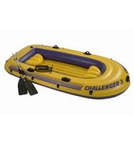 Лодка надувная INTEX Challenger 3 Set