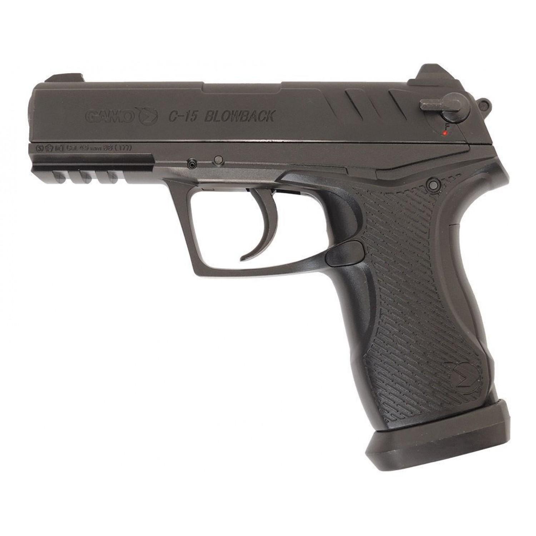 Покупка Пневматический пистолет GAMO C-15 Blowback Dual в Минске Беларуси