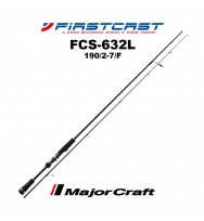 Спиннинг MAJOR CRAFT Firstcast FCS-632L 1,90м. 1,75-7 гр.