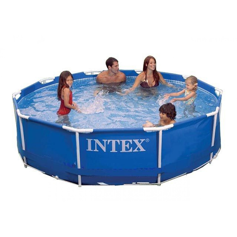 Покупка Каркасный бассейн INTEX Metal Frame 305х76 (56997/28200) в Минске Беларуси
