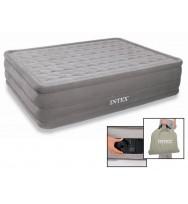 Надувная кровать INTEX 66958 Ultra Plush Bed 152x203x46 см