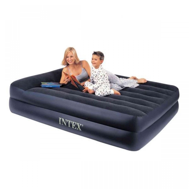 Покупка Надувная кровать INTEX 66720 Queen Rising Comfort 157x203x47 см в Минске Беларуси