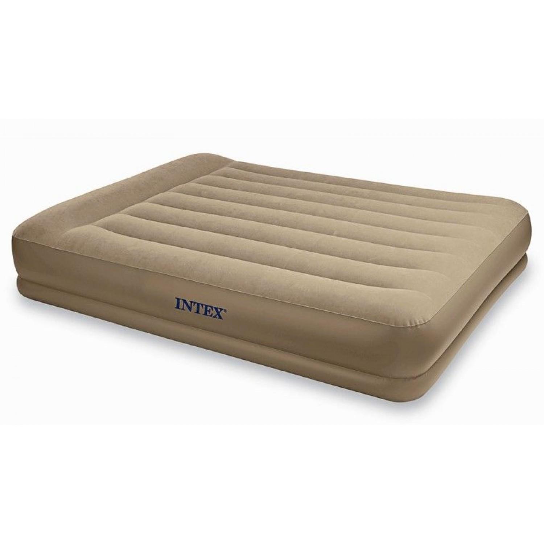 Покупка Надувная кровать INTEX 67748 Pillow Rest Mid-Rise 152x203x38 см в Минске Беларуси