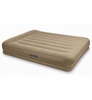 Надувная кровать INTEX 67748 Pillow Rest Mid-Rise 152x203x38 см