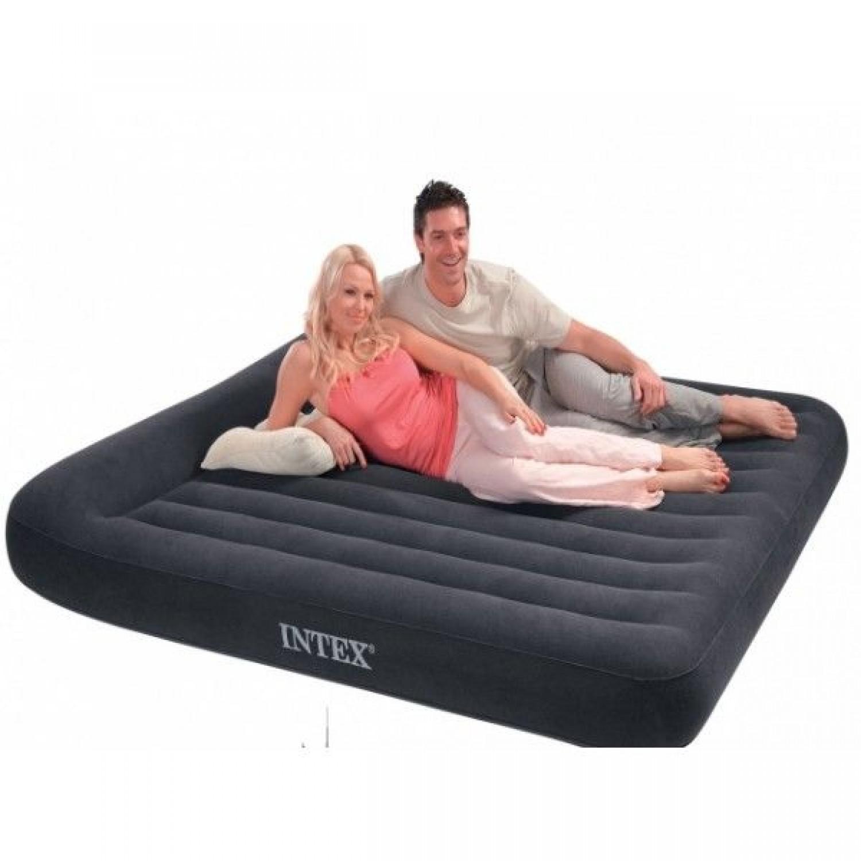 Покупка Матрас надувной INTEX 66782 Pillow Rest Classic 203х183х30 в Минске Беларуси