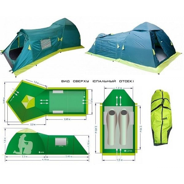 Покупка Палатка LOTOS Summer 2 в Минске Беларуси