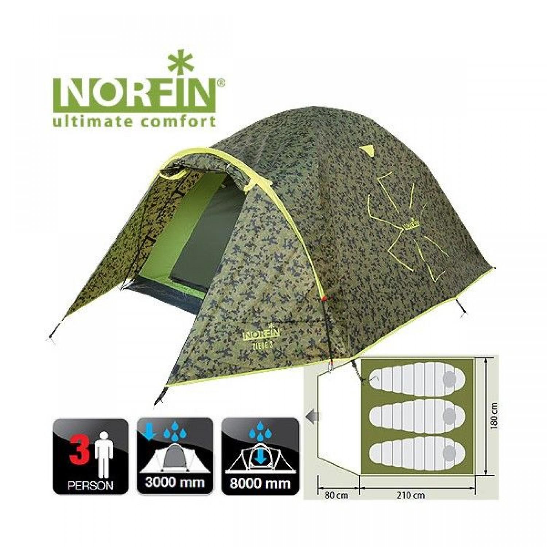 Покупка Палатка NORFIN Ziege 3 в Минске Беларуси