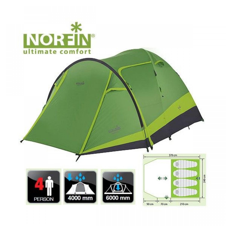 Покупка Палатка NORFIN Rudd 3+1 в Минске Беларуси
