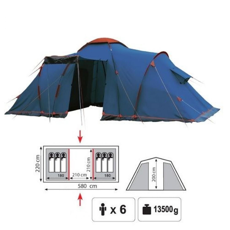 Покупка Палатка SOL Castle 6 в Минске Беларуси
