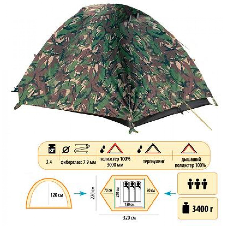 Покупка Палатка SOL Hunter 3 в Минске Беларуси