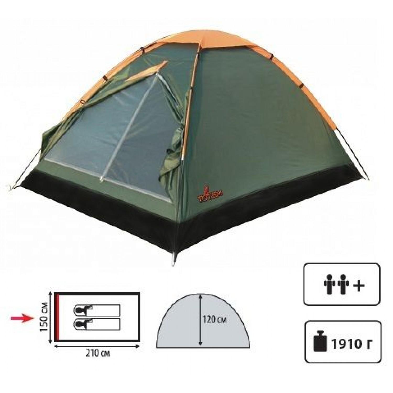 Покупка Палатка TOTEM Summer 2 V2 в Минске Беларуси