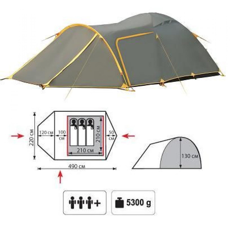 Покупка Палатка TRAMP Grot 3 V2 в Минске Беларуси