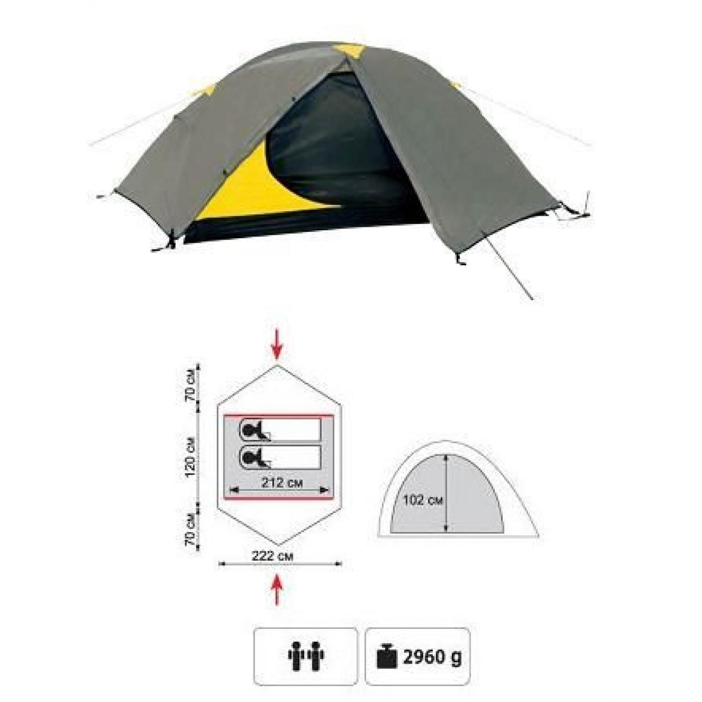 Покупка Палатка TRAMP Colibri V2 в Минске Беларуси