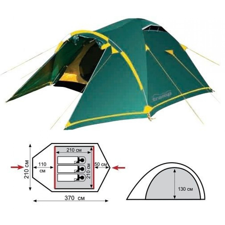 Покупка Палатка TRAMP Stalker 3 V2 в Минске Беларуси