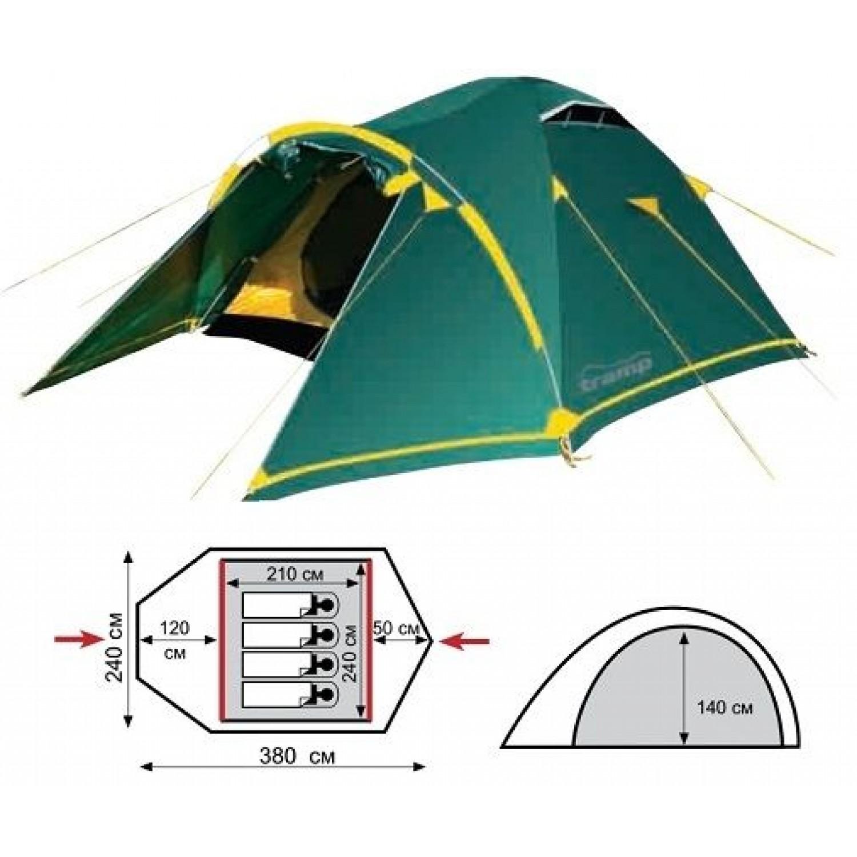 Покупка Палатка TRAMP Stalker 4 V2 в Минске Беларуси