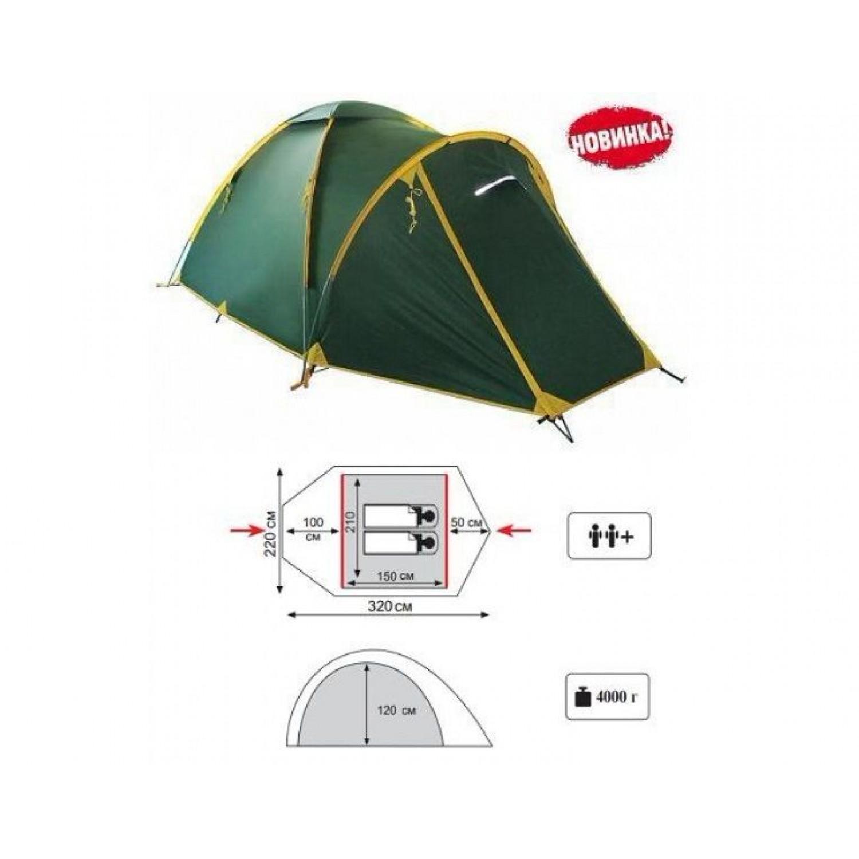 Покупка Палатка TRAMP Space 2 V2 в Минске Беларуси