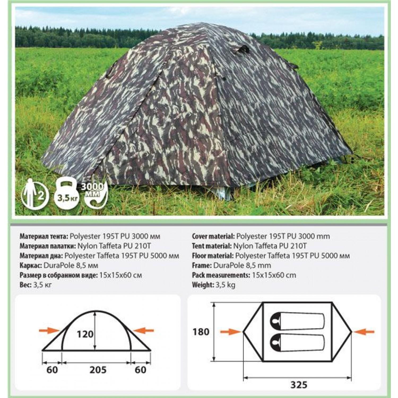 Покупка Палатка COMFORTIKA Trekker 2 Plus M в Минске Беларуси