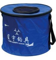 Сумка-кан AKARA складная круглая средняя диаметр 35 см.