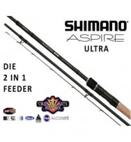 Удилище фидерное SHIMANO Aspire Ultra Match Feeder L 3,30-3,30м. до 70 гр.