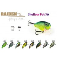 Воблер RAIDEN Shallow Fat 70