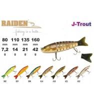 Воблер RAIDEN J-Trout 110